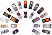 Телефоны из Японии, Китая, США.