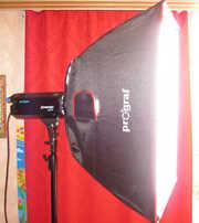 Комплект импульсного света  Prograf Studio Flash Ecopulse 400