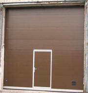 Секционные ворота HORMANN,  DoorHan,  ALUTECH