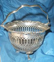 Серебреная конфетница нач.ХХвека