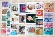 Отдам марки начинающим филателистам