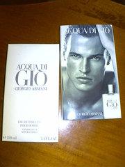 мужской аромат Acqua di Gio Giorgio Armani