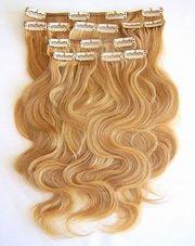 славянские волосы на заколках