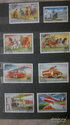 Почтовые марки монгол шуудан