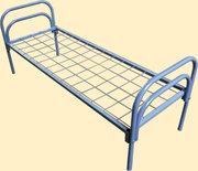 Кровати металлические,  кровати одноярусные,  кровати для рабочих оптом