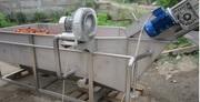 Ванна вентиляторная для отмачивания овощей от земли.