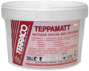 Матовая краска для потолков Терраматт