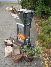 Мини линия гранулирования древесных отходов для дома