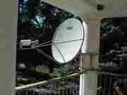 Спутниковые связь,  интернет и телевидение. Кондиционеры.