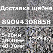 Доставка щебня любой фракции по Ростову-на-Дону
