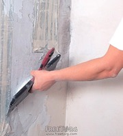 Малярные работы,  шпатлевка стен