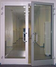 Алюминиевые двери от производителя в Ростове-на-Дону
