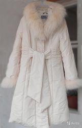 Пальто- пуховик женский
