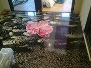 Декоративные полимерные наливные 3D полы