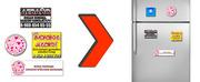 Рекламные магниты на холодильник для вашего бизнеса.