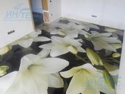 наливные декоративные полимерные полы
