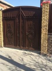 Кованые ворота,  двери,  решетки на окна