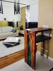 Авторская мебель из металла и массива дерева