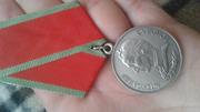Медаль суворова с документами с номером