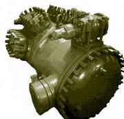 Установка компрессора 2АФ53Э51Ш