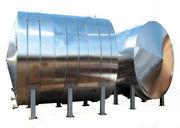 Горизонтальные емкости из нержавеющей стали