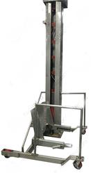 Столбовой мачтовый подъемник-опрокидыватель передвижной