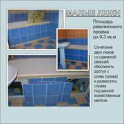 Ревизионные люки невидимые под плитку стеновые,  напольные и потолочные