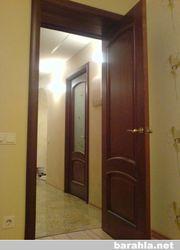 448Установка доборов и наличников на двери