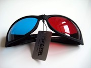 Анаглифные очки / 3d пластиковые стереоочки
